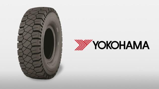 Yokohama offers radial tire for rigid frame dump trucks