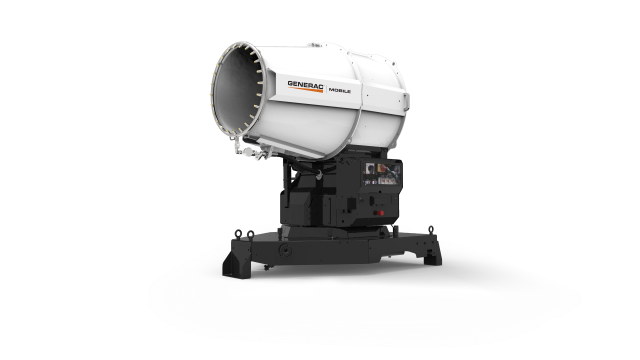 Generac's new system provides more effective way of suppressing dust