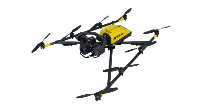 The Intel Falcon 8+ Drone – Topcon Edition is designed to provide consistent, stable flights.
