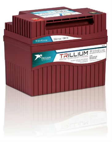 Intelligent Lithium batteries from Trojan designed for deep-cycle applications