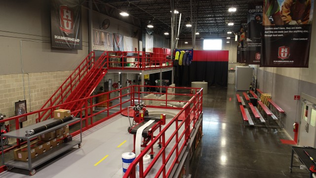 The new two-story, 5,000-square-foot educational facilities provide trenchless method contractors, plumbers, project engineers and utility company and municipal crews both classroom and hands-on application training for every HammerHead product line.