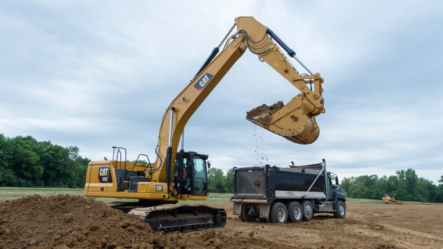 The new Cat 330 has the industry's highest level of standard factory-equipped technology to boost productivity.