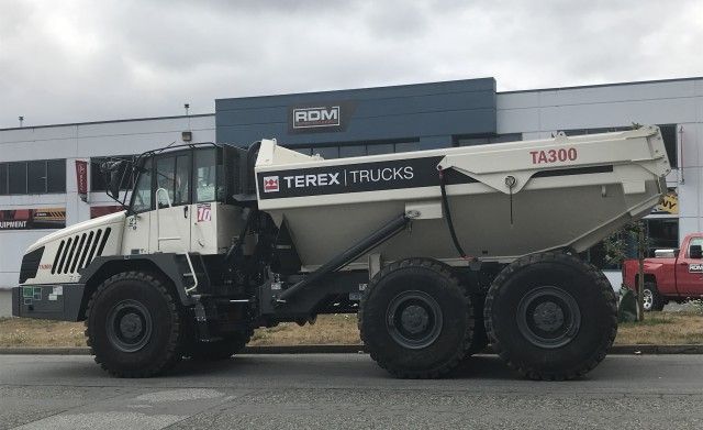 Customers of RDM Equipment Sales and Rentals will now be able to get hold of Terex Trucks machines.