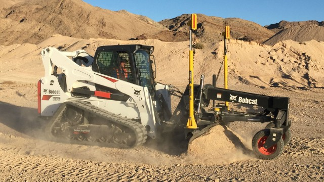 Small machines like skid steers and compact track loaders can now be 2D grade control capable thanks to Trimble's Earthworks GO!