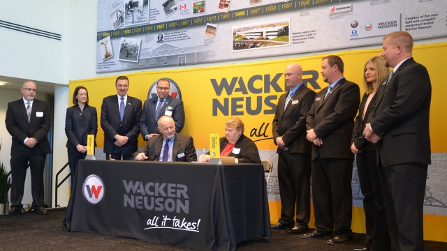 """The program is intended to act as a funnel for qualified technicians into our dealer network,"" explains Jake Gaylord, technical training manager for Wacker Neuson and author of the program."