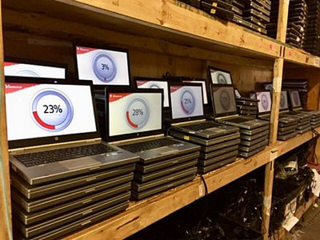 Electronic Recycling Association donates over 500 refurbished IT devices to 27 organizations