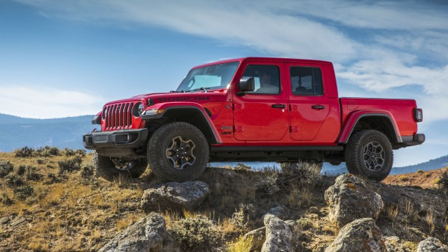 The 2020 Jeep Gladiator is available in several models, including the Rubicon.