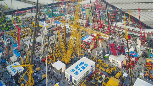 At bauma China 2018, XCMG presented more smart and efficient solutions that embody the brand's