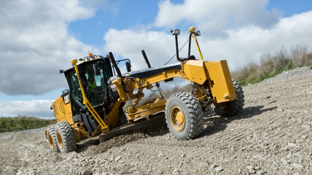 Earthworks Version 1.7 is ideal for motor graders and other types of equipment.