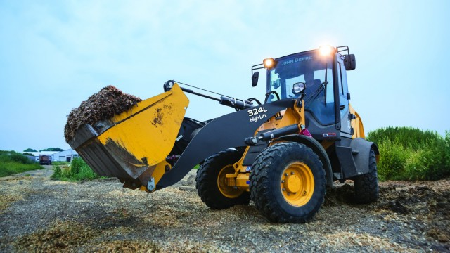 Knowing a comfortable operator is a productive operator, the 244L and 324L models offer a redesigned cab. An optional air ride, high-back operator seat ensures a smooth ride.