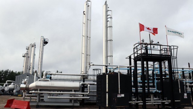 Through its 50% ownership in the Wood River and Borger refineries, approximately 25% of Cenovus's blended oil production is mitigated against the impact of light-heavy oil differentials.