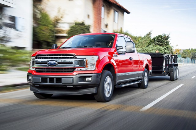 Ford F-150 for the first time is available with the Power Stroke diesel