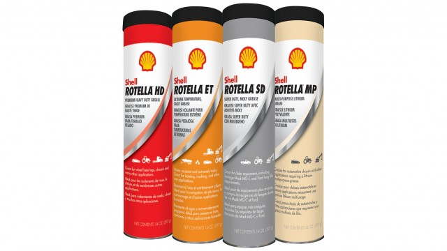 Line of Shell Rotella greases introduced