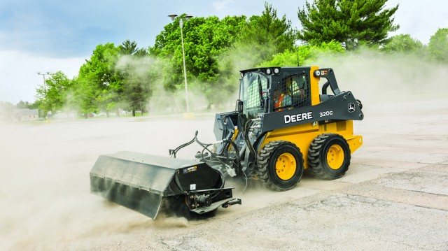 The new pickup brooms are superior solutions for dust mitigation challenges and restrictive barriers, like curbs and sidewalks.
