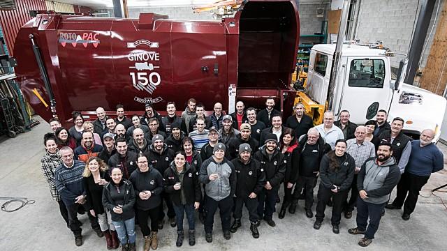 New Way partner Ginove reaches ROTO PAC production milestone