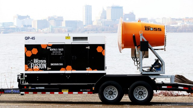 The DB-60 Fusion dust suppressor features a Tier IV Final-compliant generator.
