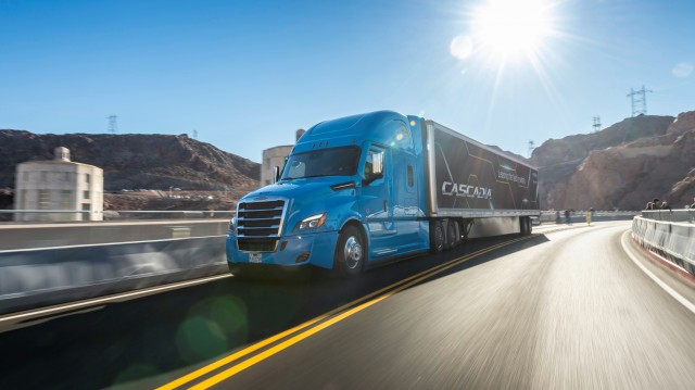"""It's not just the new Cascadia's aerodynamic shape, specific options or powertrain components that make it the best – it's that these features are engineered to seamlessly work together,"" said Kary Schaefer, general manager, marketing and strategy for Daimler Trucks North America."
