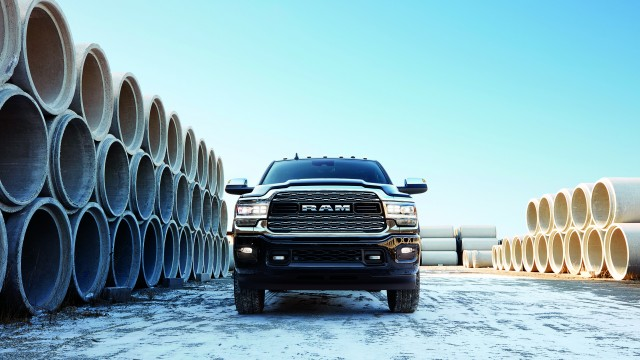 The new Ram Heavy Duty uses a variety of high-strength steels in the frame, body panels and core structure to maximize impact performance and reduce overall weight, including the A-, B- and C-pillars, front structure and door beams.