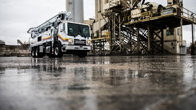 Mack Trucks will equip Mack TerraPro® concrete pumper models with the Mack® mDRIVE™ HD automated manual transmission (AMT), marking the first time an AMT has been available in a cabover concrete pumper.