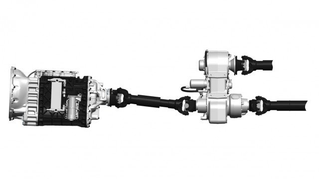 As the only AMT with split-shaft PTO functionality, the mDRIVE HD gives concrete pumper customers improved performance, proven durability and maximized uptime in an easy- to-use package.