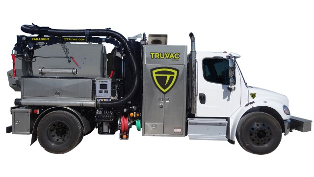 TRUVAC™ vacuum excavator trucks designed to satisfy safe-digging requirements for locating and verifying underground utility lines and pipes.