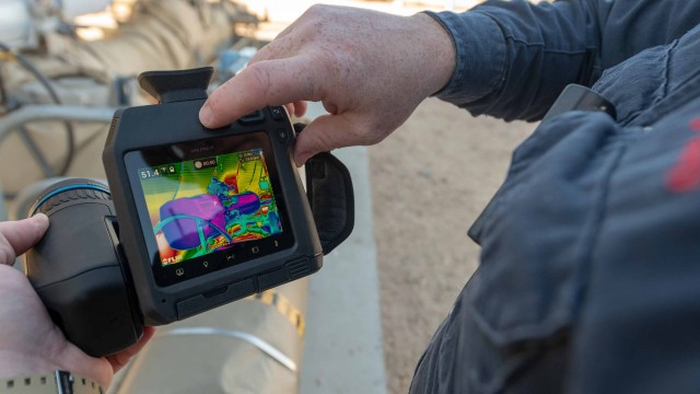 """Optical gas imaging technology is a real benefit to industries that use or produce methane, but the cost of the technology has been a barrier for some customers."""