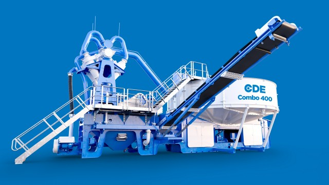 CDE Global to reveal world's first All-in-One Wet Processing System at BAUMA 2019