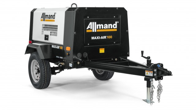 Maxi-Air™ 100, 375DP and 400 Portable Air Compressors are designed with a heavy-duty, oversized rotary air screw end to run at lower RPM for longer life and improved fuel efficiency.