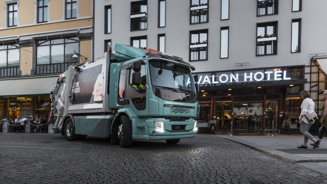 The Volvo FL Electric trucks are part of a pre-series developed in collaboration with selected customers.