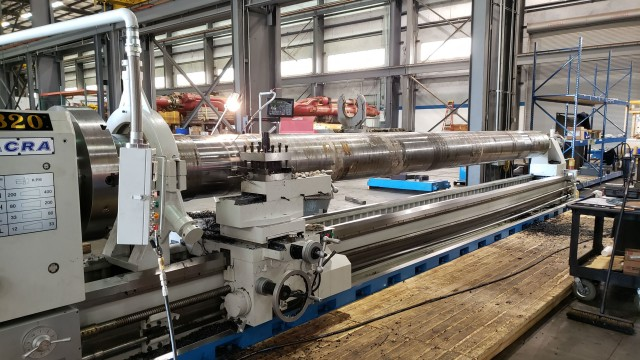 Successful completion of reduced bore direct acting tensioner project
