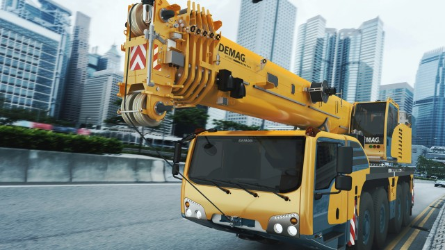 Terex to sell Demag mobile cranes business to Tadano